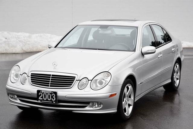 2003 mercedes benz e class e320 silver penticton honda. Black Bedroom Furniture Sets. Home Design Ideas