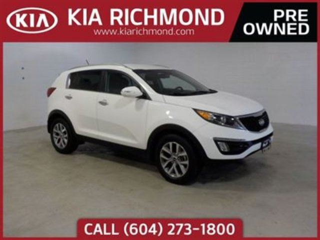 2016 KIA SPORTAGE EX in Richmond, British Columbia