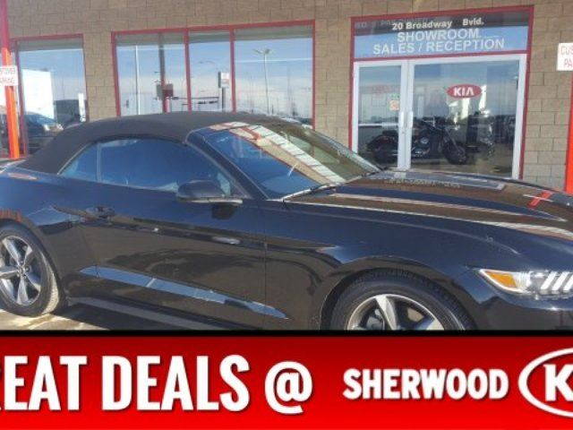 2016 Ford Mustang CONVERTIBLE Accident Free, A/C, - Edmonton in Sherwood Park, Alberta