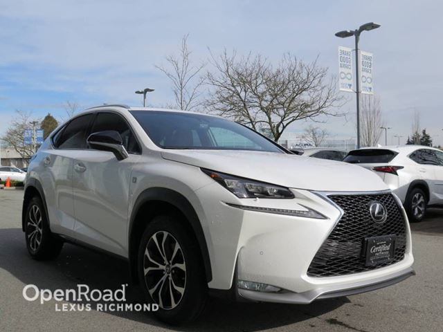2015 lexus nx 200t f sport series 2 richmond british columbia used car for sale 2711704. Black Bedroom Furniture Sets. Home Design Ideas