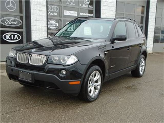 2009 BMW X3 xDrive30i panaramic roof heated steering in Guelph, Ontario