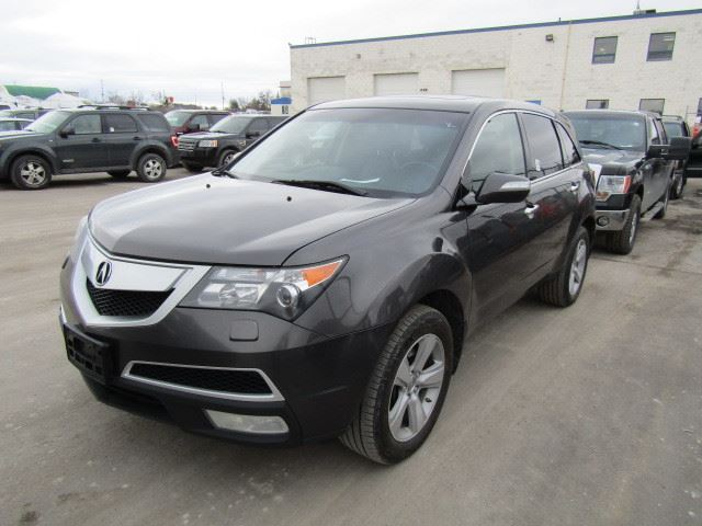 2011 acura mdx grey north toronto auction. Black Bedroom Furniture Sets. Home Design Ideas