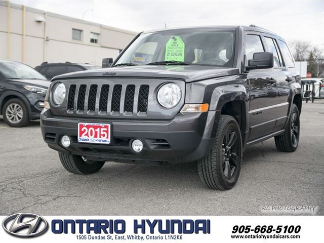 2015 jeep patriot sport north awd whitby ontario used car for sale 2712532. Black Bedroom Furniture Sets. Home Design Ideas