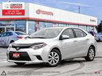 2014 Toyota Corolla LE Toyota Certified, One Owner, No Accidents, Toyota Serviced in London, Ontario