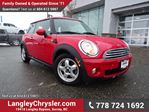 2010 MINI Cooper Base W/ 6-SPEED MANUAL & HEATED FRONT SEATS in Surrey, British Columbia