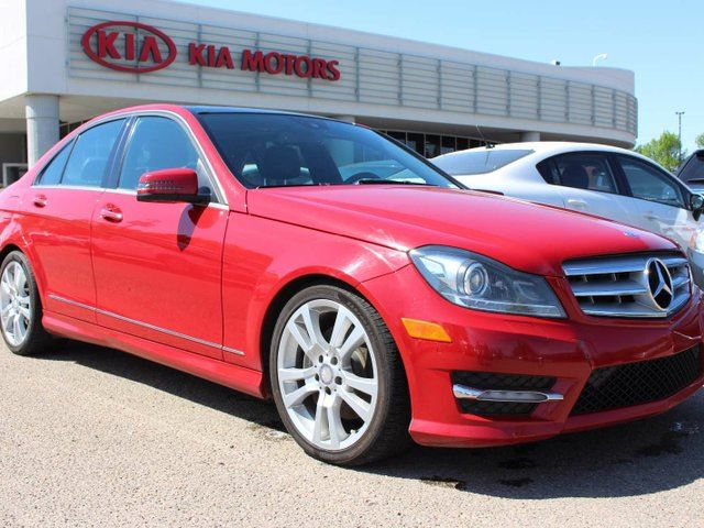 2013 mercedes benz c class c350 4matic edmonton alberta for 2013 mercedes benz c350