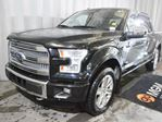 2015 Ford F-150 Platinum 4x4 SuperCrew Cab 5.5 ft. box 145 in. WB in Red Deer, Alberta
