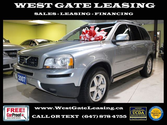 2007 volvo xc90 v8 sport r design dvd 7 passenger. Black Bedroom Furniture Sets. Home Design Ideas