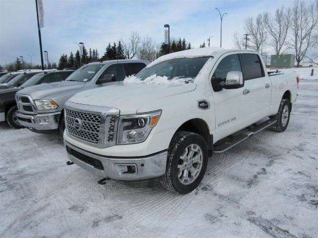 2016 nissan titan xd platinum reserve calgary alberta used car for sale 2713714. Black Bedroom Furniture Sets. Home Design Ideas