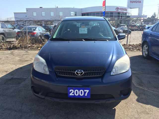 2007 toyota matrix hamilton ontario used car for sale. Black Bedroom Furniture Sets. Home Design Ideas