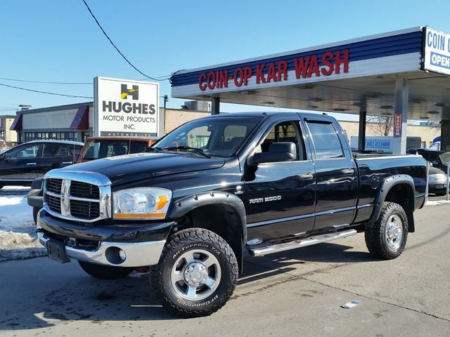 2006 dodge ram 2500 dually toronto ontario used car for sale 2713579. Black Bedroom Furniture Sets. Home Design Ideas