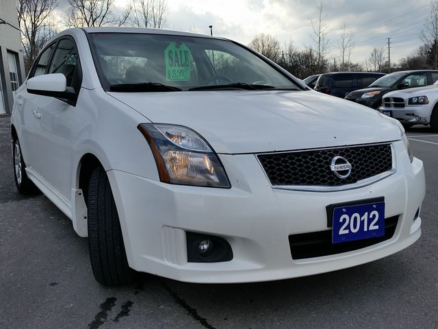 2012 nissan sentra 2 0 sr brantford ontario used car. Black Bedroom Furniture Sets. Home Design Ideas