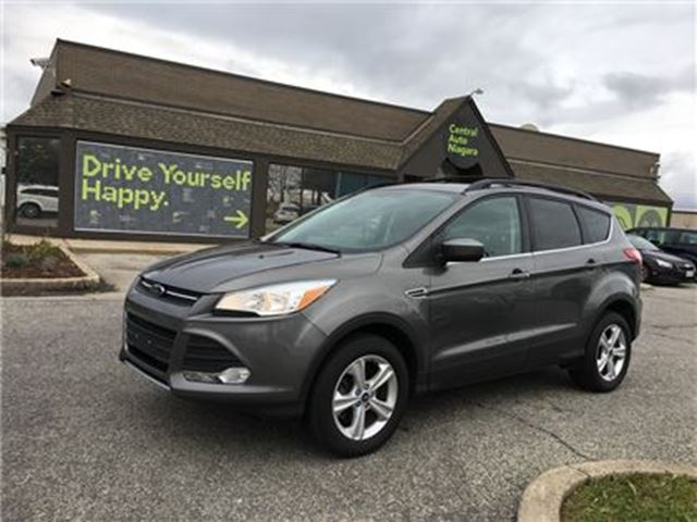 used 2013 ford escape 4 cy se awd nav moonroof leather fonthill. Black Bedroom Furniture Sets. Home Design Ideas