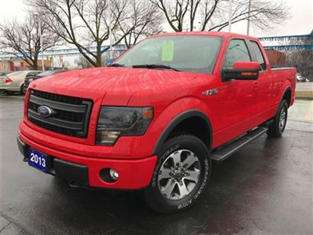 2013 ford f 150 fx4 supercab one owner with navigation leather red discovery ford. Black Bedroom Furniture Sets. Home Design Ideas