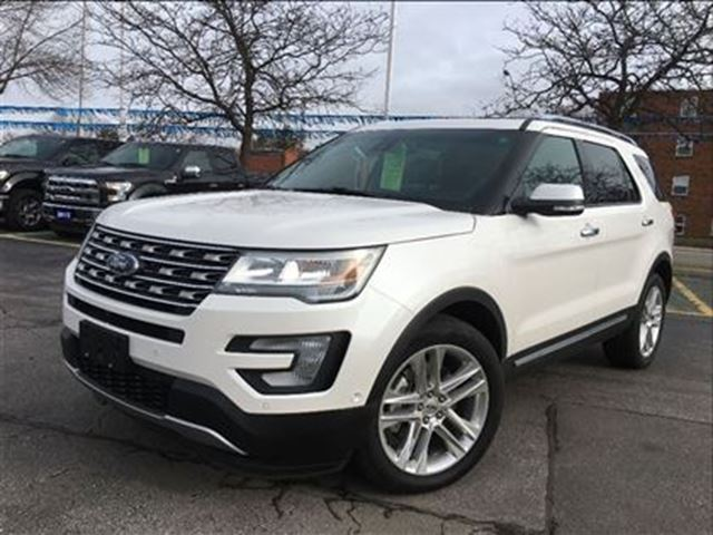 2016 ford explorer limited awd burlington ontario used car for sale 2714146. Black Bedroom Furniture Sets. Home Design Ideas