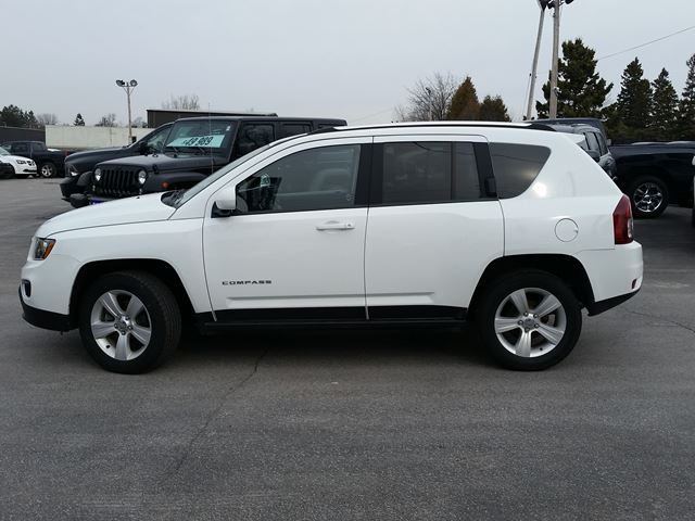 used 2016 jeep compass high altitude port hope. Black Bedroom Furniture Sets. Home Design Ideas