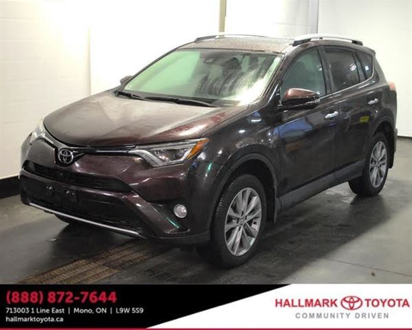 2016 toyota rav4 awd limited orangeville ontario used car for sale 2714144. Black Bedroom Furniture Sets. Home Design Ideas