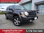 2016 Jeep Patriot Sport/North ACCIDENT FREE w/ 4X4, LEATHER & NAVIGATION in Surrey, British Columbia
