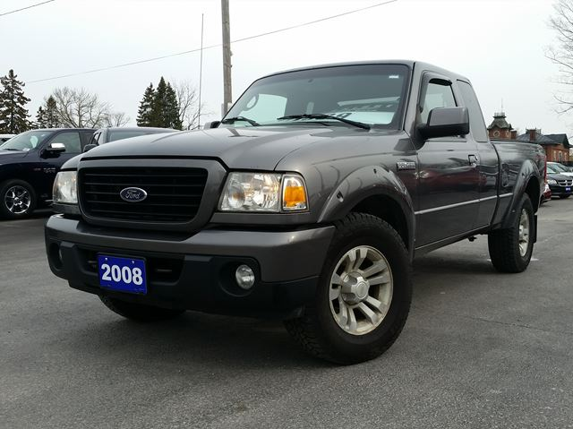 2008 ford ranger sport port hope ontario used car for. Black Bedroom Furniture Sets. Home Design Ideas