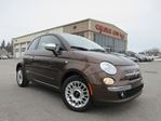 2012 Fiat 500 LOUNGE, LEATHER, ROOF, 52K! in Stittsville, Ontario