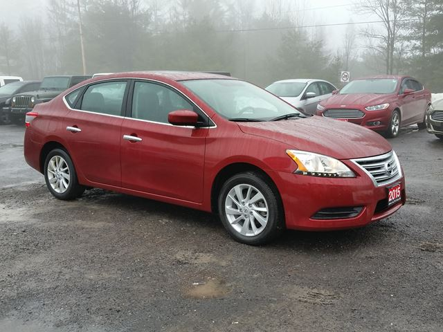 2015 nissan sentra sv rockland ontario used car for sale 2713798. Black Bedroom Furniture Sets. Home Design Ideas