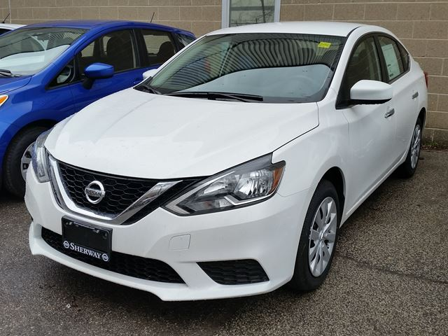 2017 Nissan Sentra S White Sherway Nissan New Car