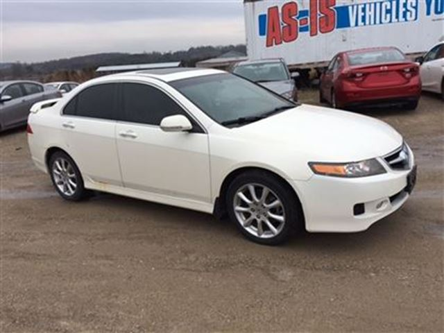 2008 ACURA TSX Premium Tech AS IS Roof Navi Leather in Orangeville, Ontario