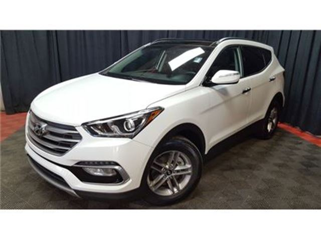 2017 Hyundai Santa Fe 2 4 W Leather Pano Roof Calgary