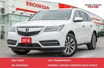 2016 Acura MDX Navigation Package in Whitby, Ontario