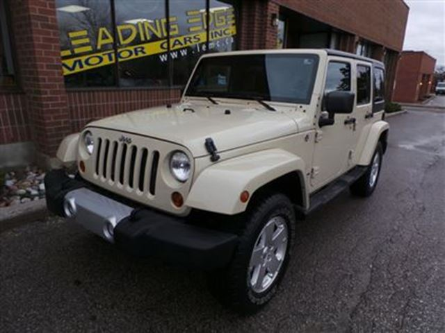 2011 jeep wrangler unlimited sahara woodbridge ontario used car for. Cars Review. Best American Auto & Cars Review