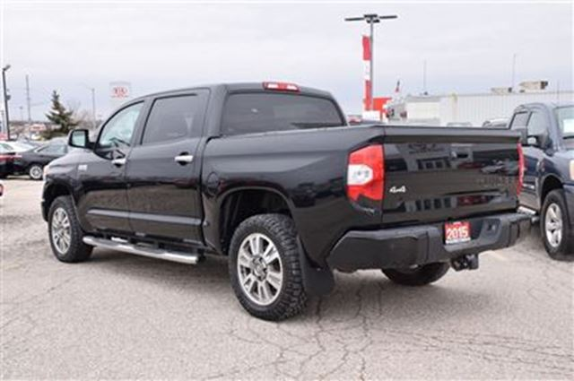 2015 toyota tundra platinum georgetown ontario used car for sale 2715605. Black Bedroom Furniture Sets. Home Design Ideas