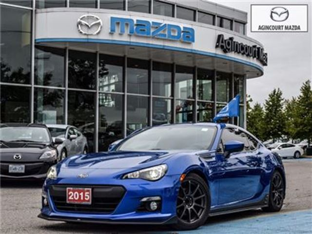 2015 SUBARU BRZ Aozora Edition - STI SKIRTS, RED CALIPERS in Scarborough, Ontario