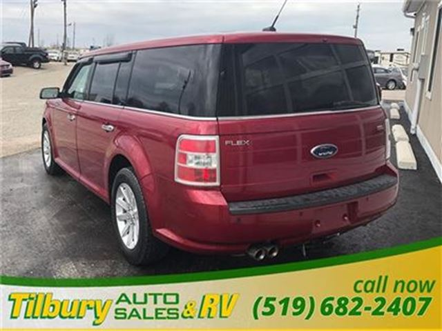 2009 ford flex sel tilbury ontario used car for sale. Black Bedroom Furniture Sets. Home Design Ideas