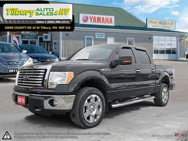 2010 FORD F-150 XLT. BLUETOOTH. CRUISE CONTROL. in Tilbury, Ontario