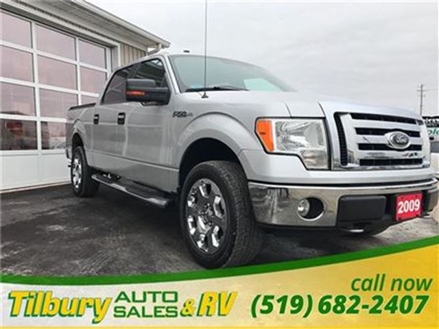 2009 ford f 150 xlt certified etested and ready to go tilbury ontario used car for sale. Black Bedroom Furniture Sets. Home Design Ideas