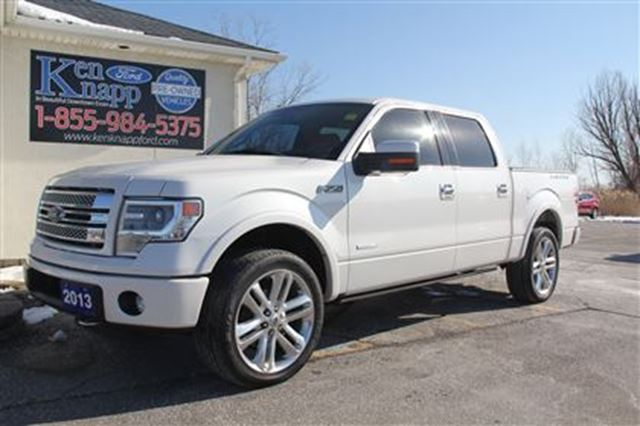 2013 ford f 150 limited edition crew awd essex ontario used car for sale 2714620. Black Bedroom Furniture Sets. Home Design Ideas