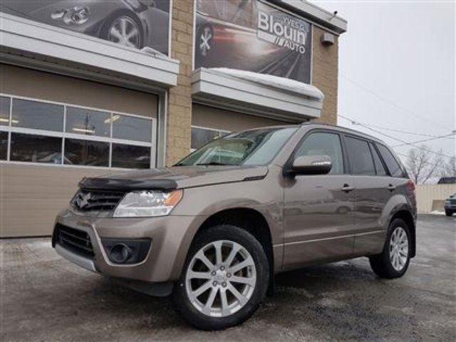 2013 suzuki grand vitara jlx 63 734km moteur 2 4l toit ouvrant sainte marie quebec used. Black Bedroom Furniture Sets. Home Design Ideas