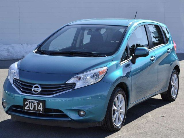 2014 nissan versa sl kelowna british columbia used car. Black Bedroom Furniture Sets. Home Design Ideas