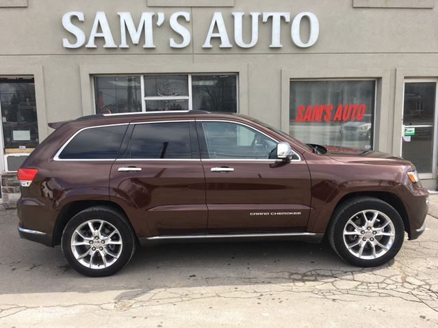 2014 jeep grand cherokee summit hamilton ontario used car for sale 2715044. Black Bedroom Furniture Sets. Home Design Ideas