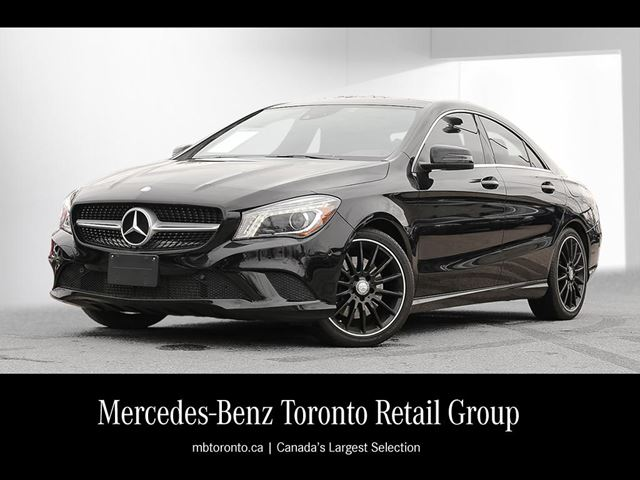 2014 mercedes benz cla250 4matic coupe cosmos black mercedes benz mississauga. Black Bedroom Furniture Sets. Home Design Ideas