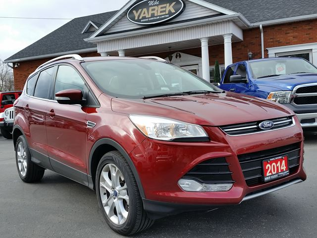 2014 ford escape titanium fwd ecoboost nav leather heated seats back up cam remote start. Black Bedroom Furniture Sets. Home Design Ideas