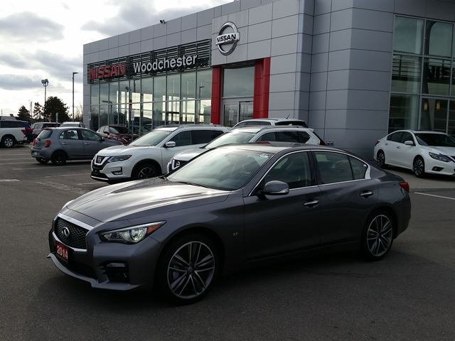 2014 infiniti q50 sport mississauga ontario used car for sale 2715798. Black Bedroom Furniture Sets. Home Design Ideas