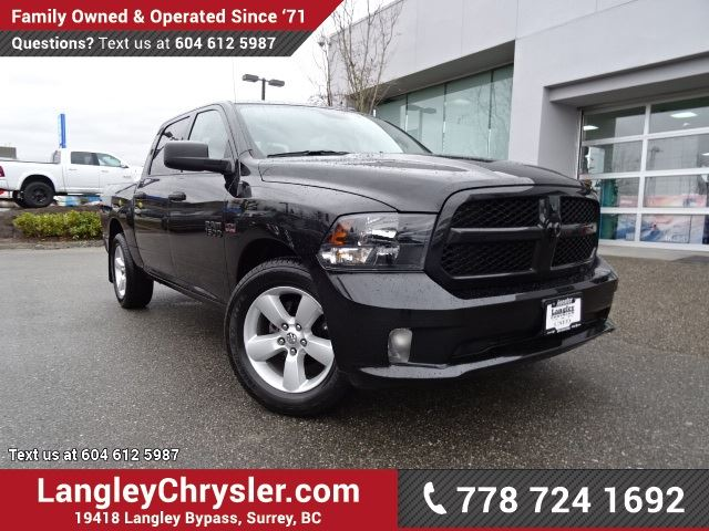 2016 dodge ram 1500 st accident free w rear view camera tow package surrey british. Black Bedroom Furniture Sets. Home Design Ideas
