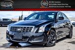 2014 Cadillac ATS AWD Bluetooth Leather Heated Front Seats Keyless Go 17Alloy Rims in Bolton, Ontario