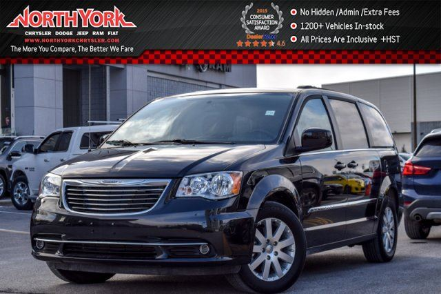 2016 Chrysler Town and Country Touring RearCam DualClimate PowerSlidingDoors 17Alloys  in Thornhill, Ontario