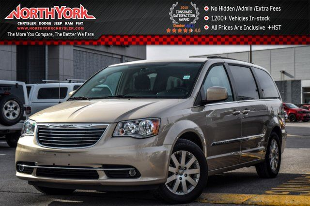 2016 Chrysler Town and Country Touring DriverConven.Pkg Nav HtdFSeats RearCam 17Alloys  in Thornhill, Ontario