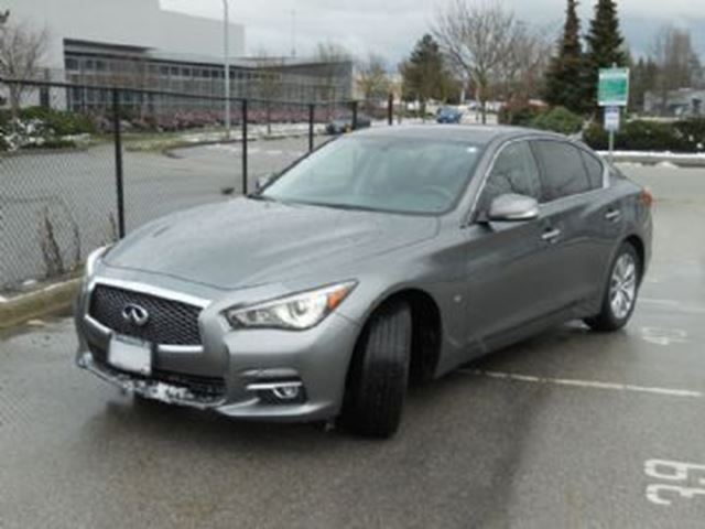 2015 infiniti q50 4dr sdn awd mississauga ontario car for sale 2716219. Black Bedroom Furniture Sets. Home Design Ideas