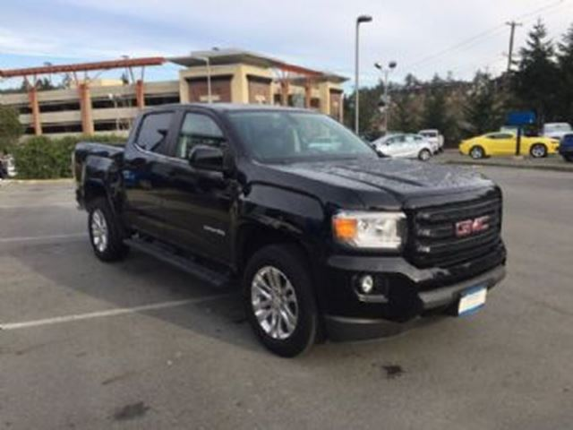 2016 gmc canyon sle nightfall edition 4 portes 4x4 black. Black Bedroom Furniture Sets. Home Design Ideas