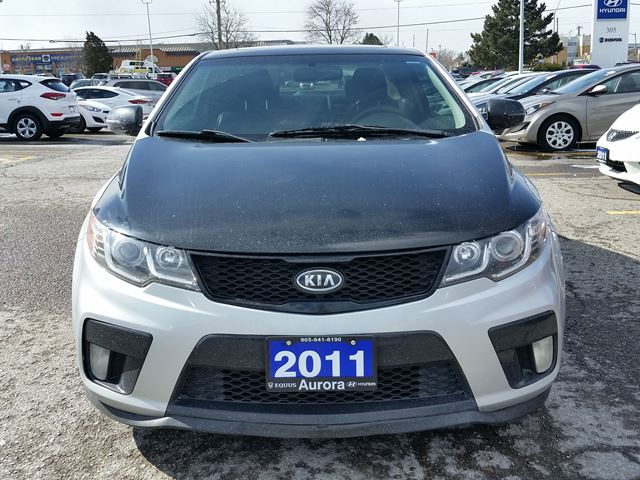 2011 kia forte koup sx aurora ontario used car for sale 2716089. Black Bedroom Furniture Sets. Home Design Ideas