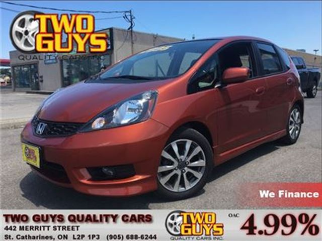 2013 Honda Fit SPORT STICK BLUETOOTH ALLOYS NEW TIRES in St Catharines, Ontario